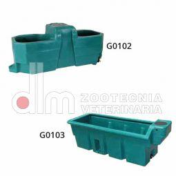 ABBEVERATOIO a vasca Suevia in plastica di alta qualità.