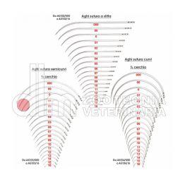 Aghi sutura a slitta - semicurvi - curvi